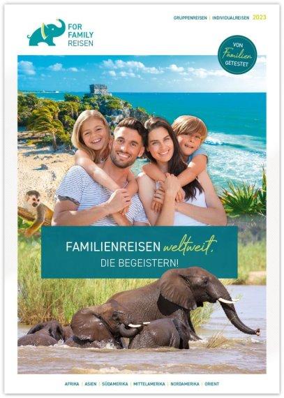 Familienreisen Reisekataloge